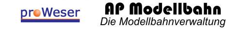 AP Modellbahn - Die Modellbahnverwaltung